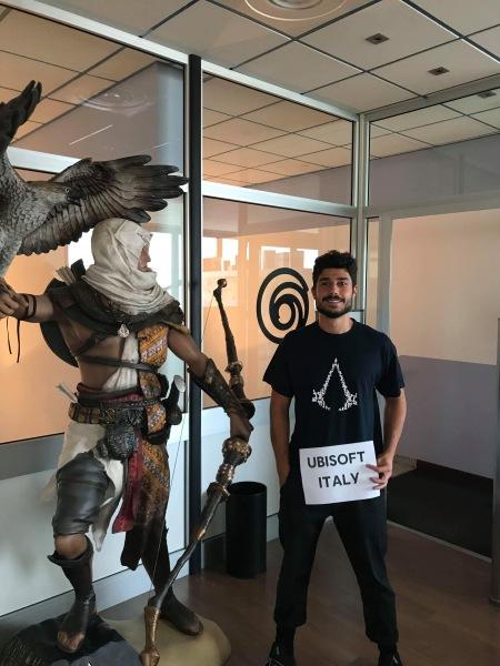 Mattia Of Ubisoft Italia