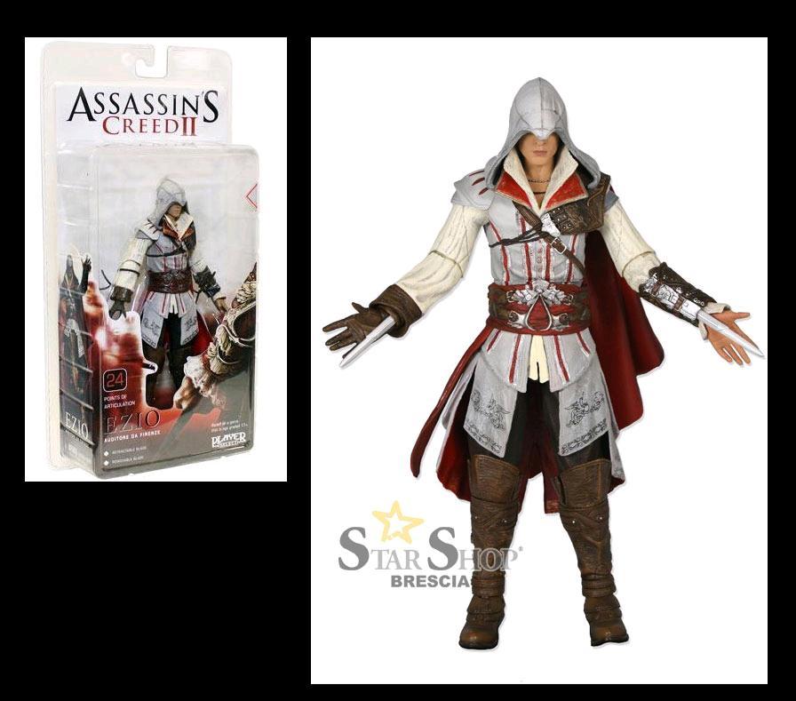 """Ezio Auditore 7"""" Action Figure della Neca (due versioni)"""