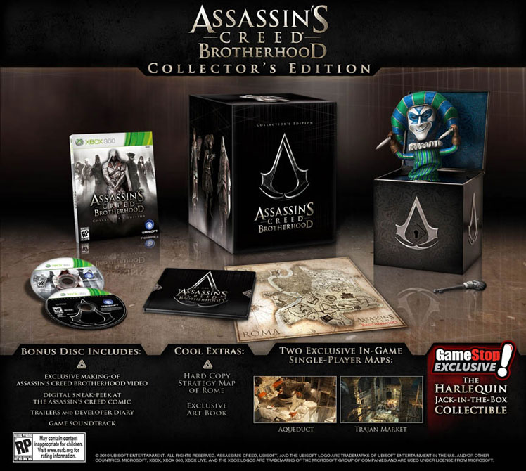 Assassin's Creed Brotherhood, Collector's Edition Harlequin