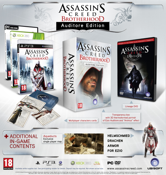 Assassin's Creed Brotherhood Auditore Edition