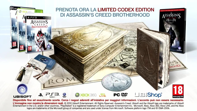 Assassin's Creed Brotherhood Limited Codex Edition