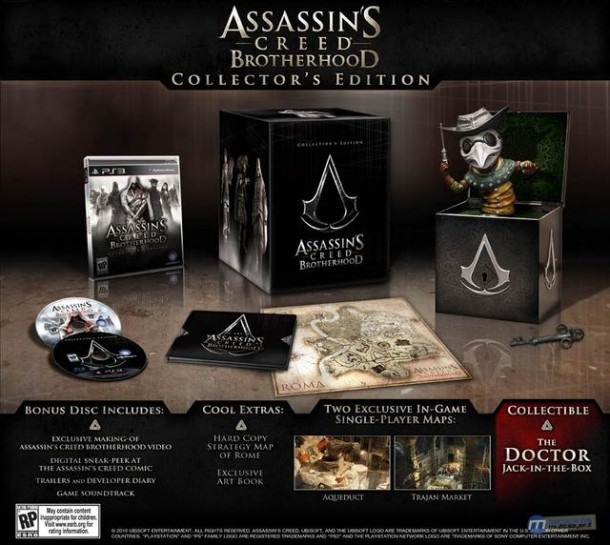 Assassin's Creed Brotherhood Collector's Edition Doctor