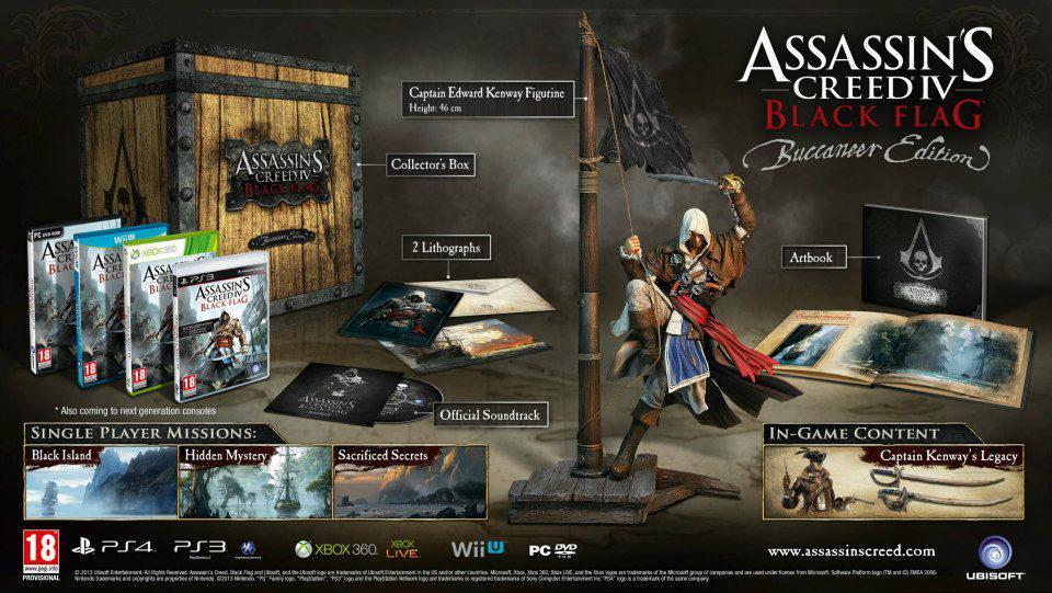 Assassin's Creed IV Black Flag Buccaneer Edition