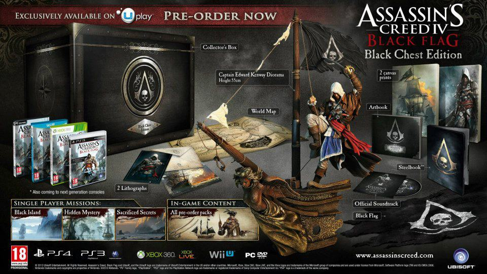 Assassin's Creed IV : Black Flag Black Chest Edition
