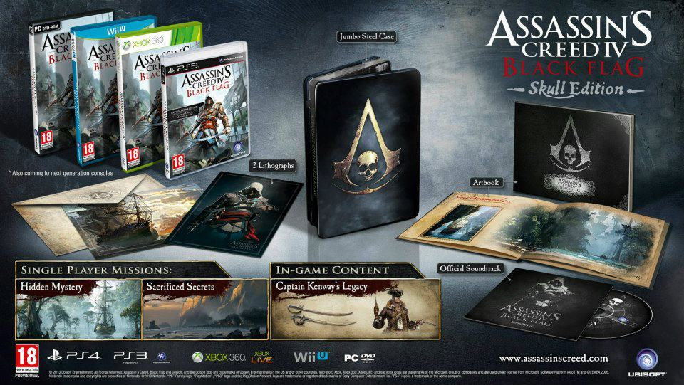 Assassin's Creed IV Black Flag – The Skull Edition