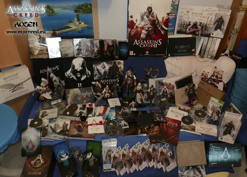 Top 3 | Biggest Assassin's Creed Fans collections