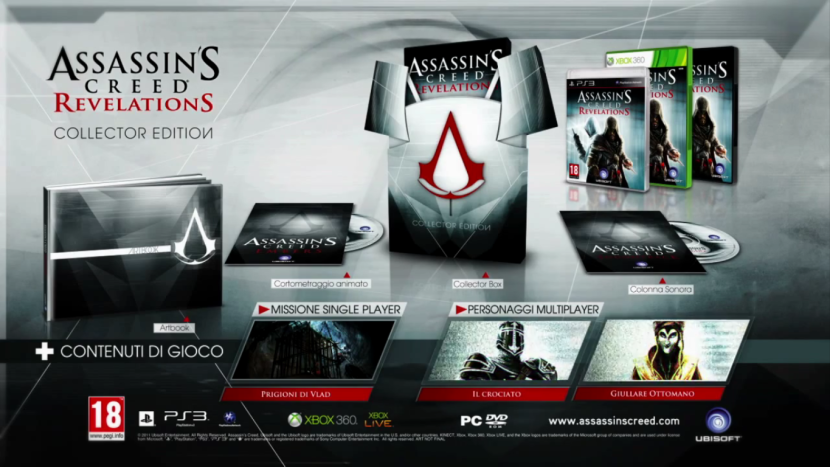 Assassin's Creed Revelation Collector Edition