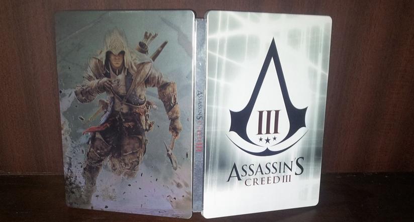 Assassin's Creed III-Steelbook