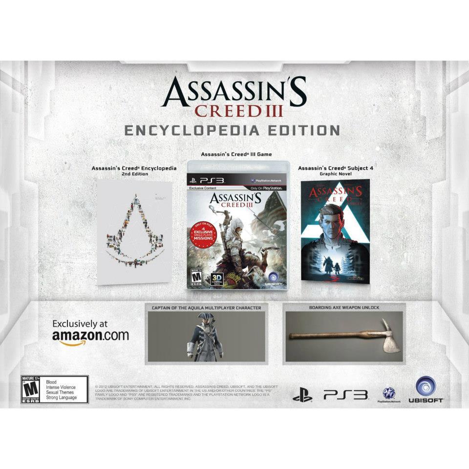 The Assassin's Creed III Encyclopedia Edition