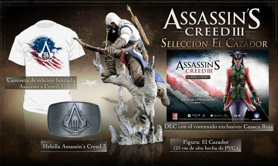 Assassin's Creed III Seleccion El Cazador