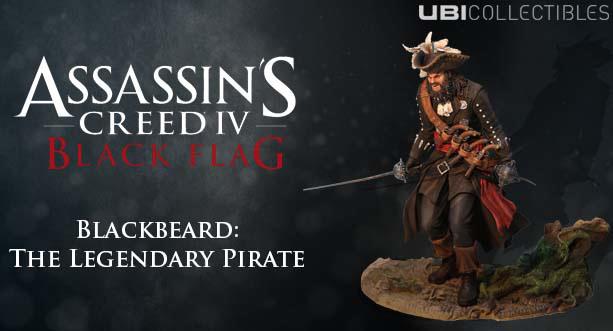 Blackbeard Figurine