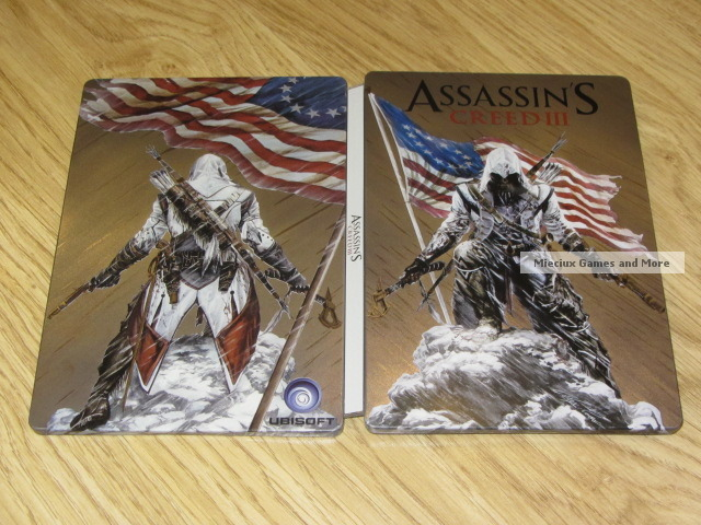 Assassin's Creed III: Steelbook