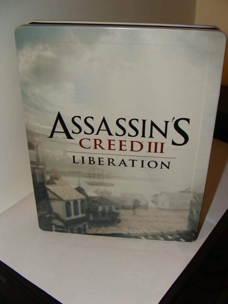 Assassin's Creed III: Liberation SteelBook