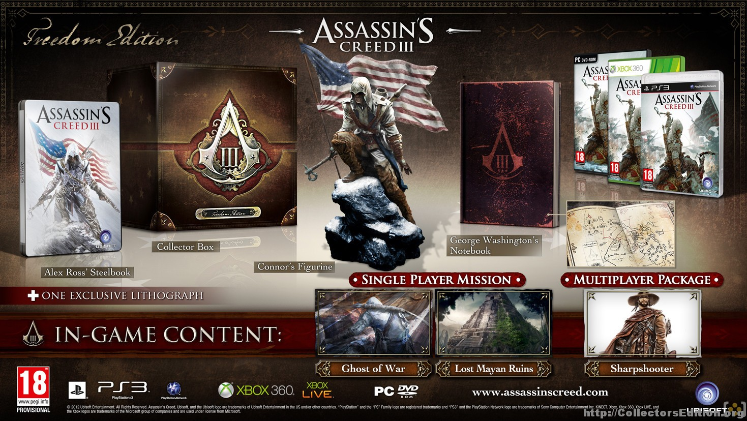 Assassin's Creed III Freedom Edition