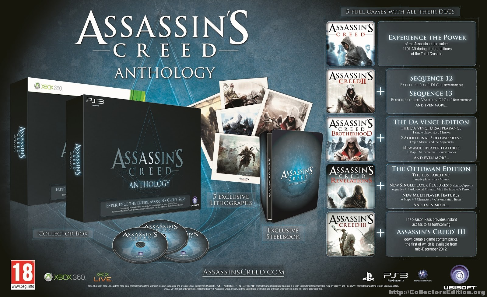 Assassin's Creed, Antology