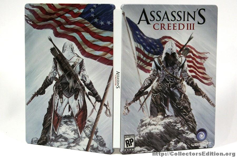 Assassin's Creed III: Steelbook