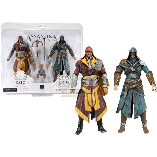 Ezio Double Pack (Brotherhood and Revelations) – NECA