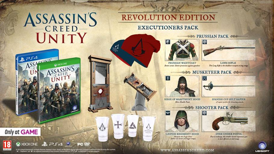 Assassin's Creed Unity Revolution Edition