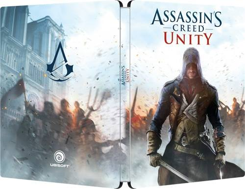 Assassin's Creed Unity Steelbook GamesOnly