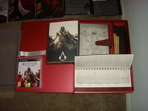 Assassin's Creed II Crimson Press Kit (IT)