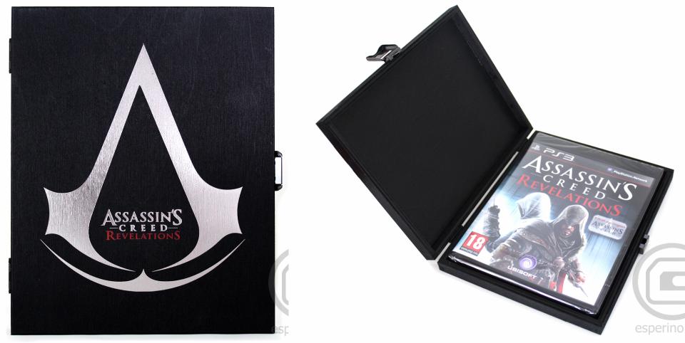Assassin's Creed Revelations Wood Black Edition