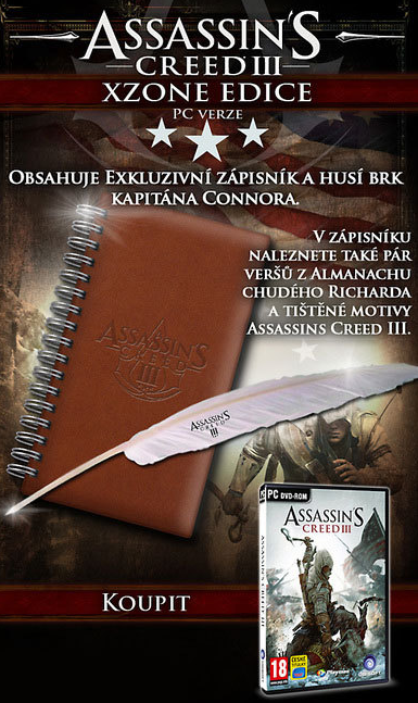 Assassin's Creed III, Xzone Edice