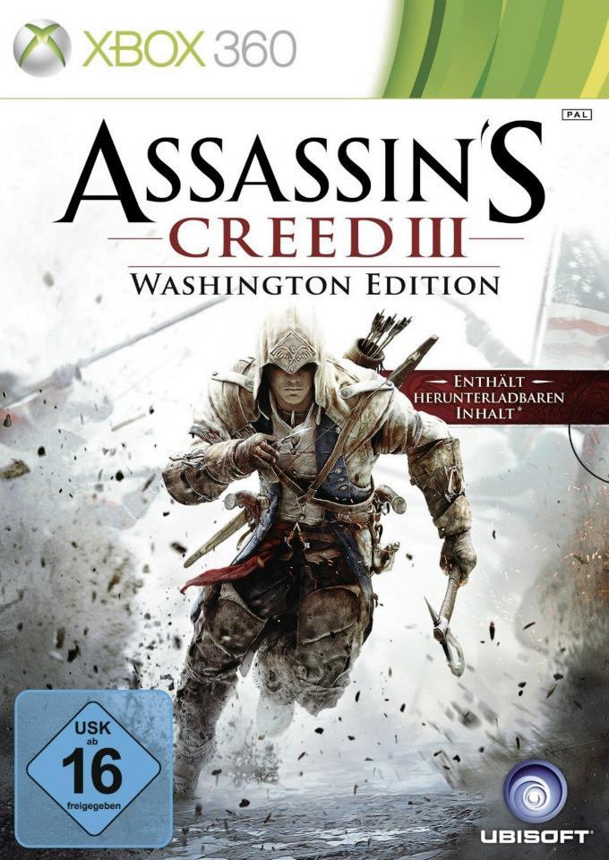 Assassin's Creed III Washington Edition