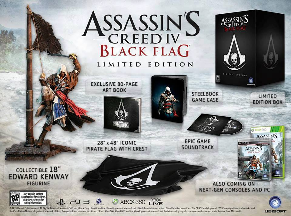 Assassin's Creed® IV Black Flag™ – Limited Edition