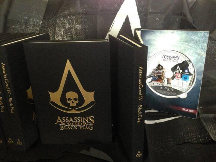 AC IV Black Flag – Black Book Edition