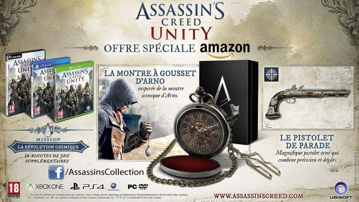 Assassin's Creed Unity – Amazon Edition