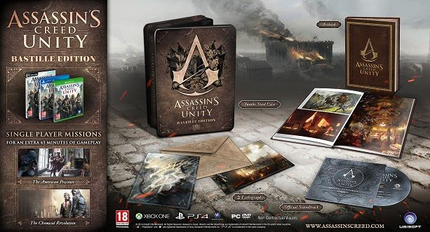 Assassin's Creed Unity – The Bastille Edition