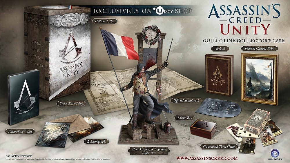 Assassin's Creed Unity – Cofanetto da Collezione Guillotine