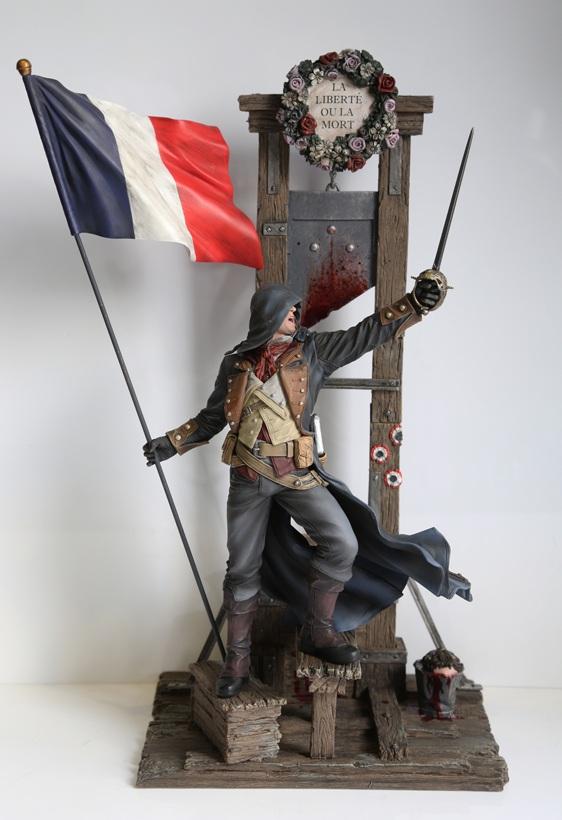 Arno Guillotine figurine