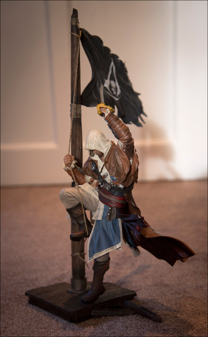 Captain Edward Kenway figurine
