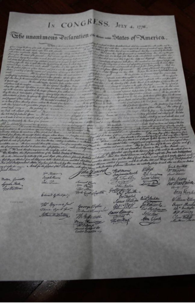 Carta di Indipendenza