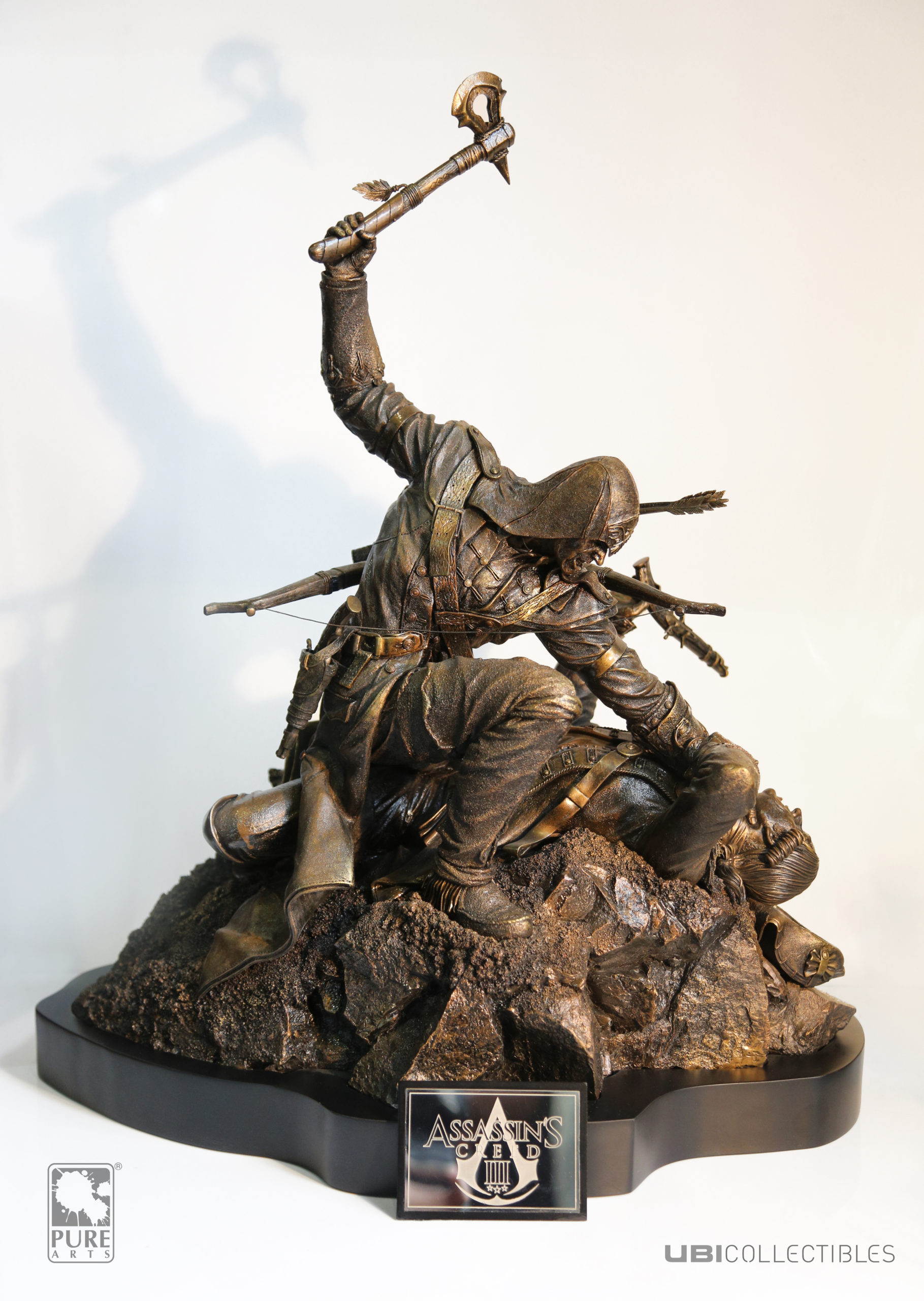 Connor Premium Statue, Bronze Edition