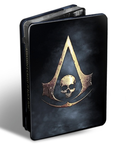Assassin's Creed Black Flag Skull Edition Steelbook