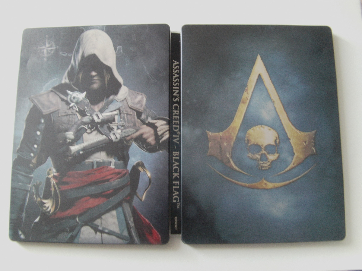 Assassin's Creed IV Black Flag : Black Chest SteelBook