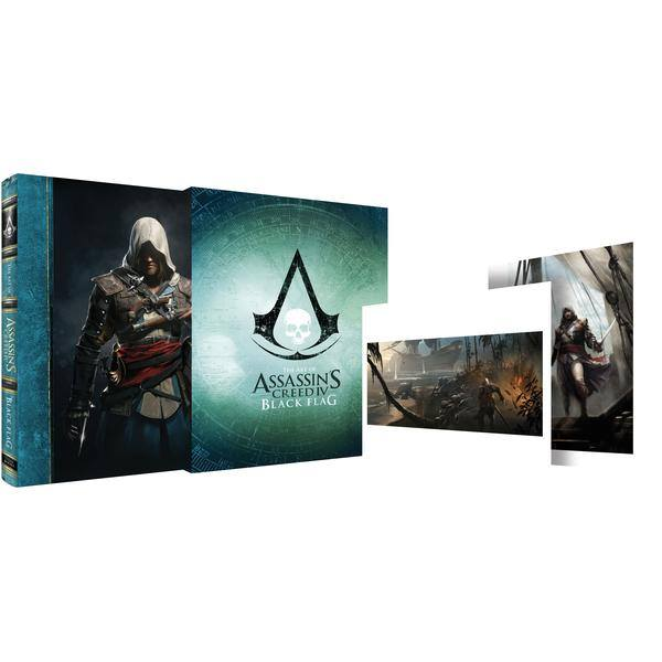 Art Of Assassin's Creed IV Black Flag (Limited Edition Hardcover)