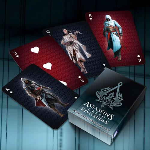 Playing cards Revelation (black)