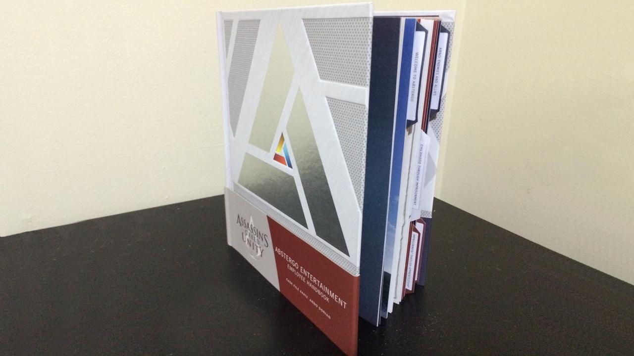 AC Unity: Abstergo Entertainment New Employee Handbook