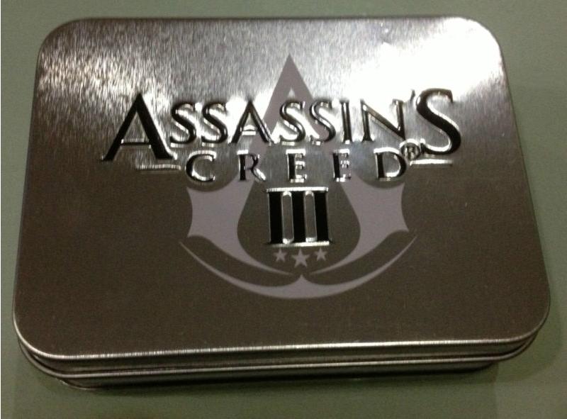 Carte da Poker con custodia in metallo