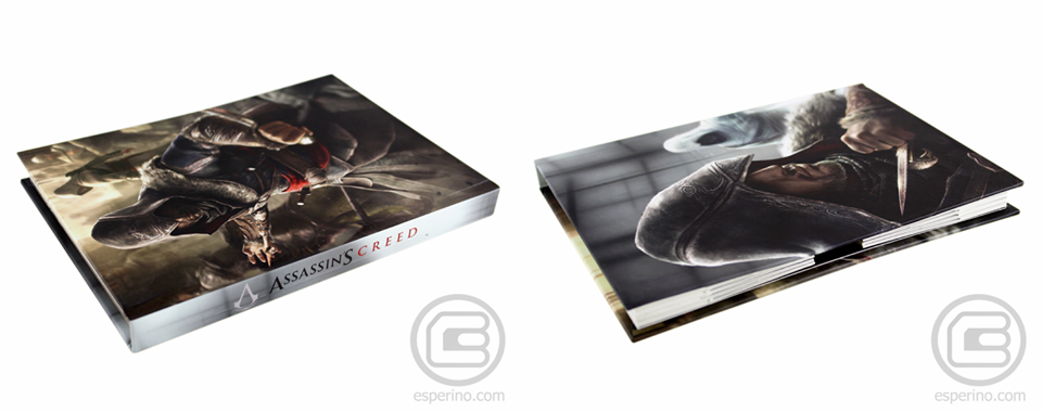 "AC Revelations ""Saga Box"" Hardcover Folder"