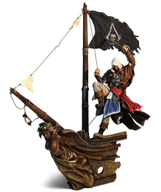 Capitano Edward Kenway diorama