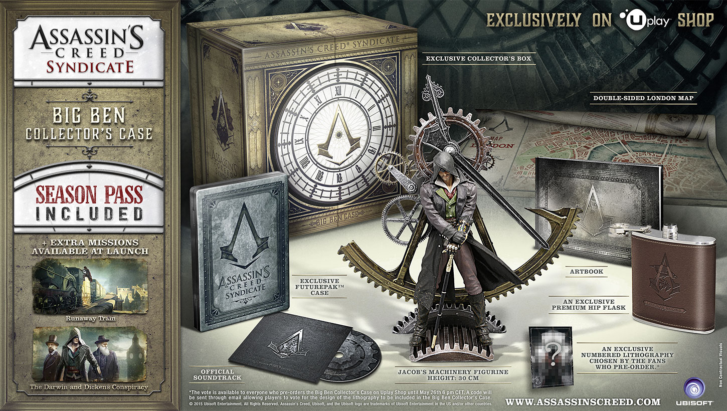 Big Ben Collector Case di Assassin's Creed® Syndicate