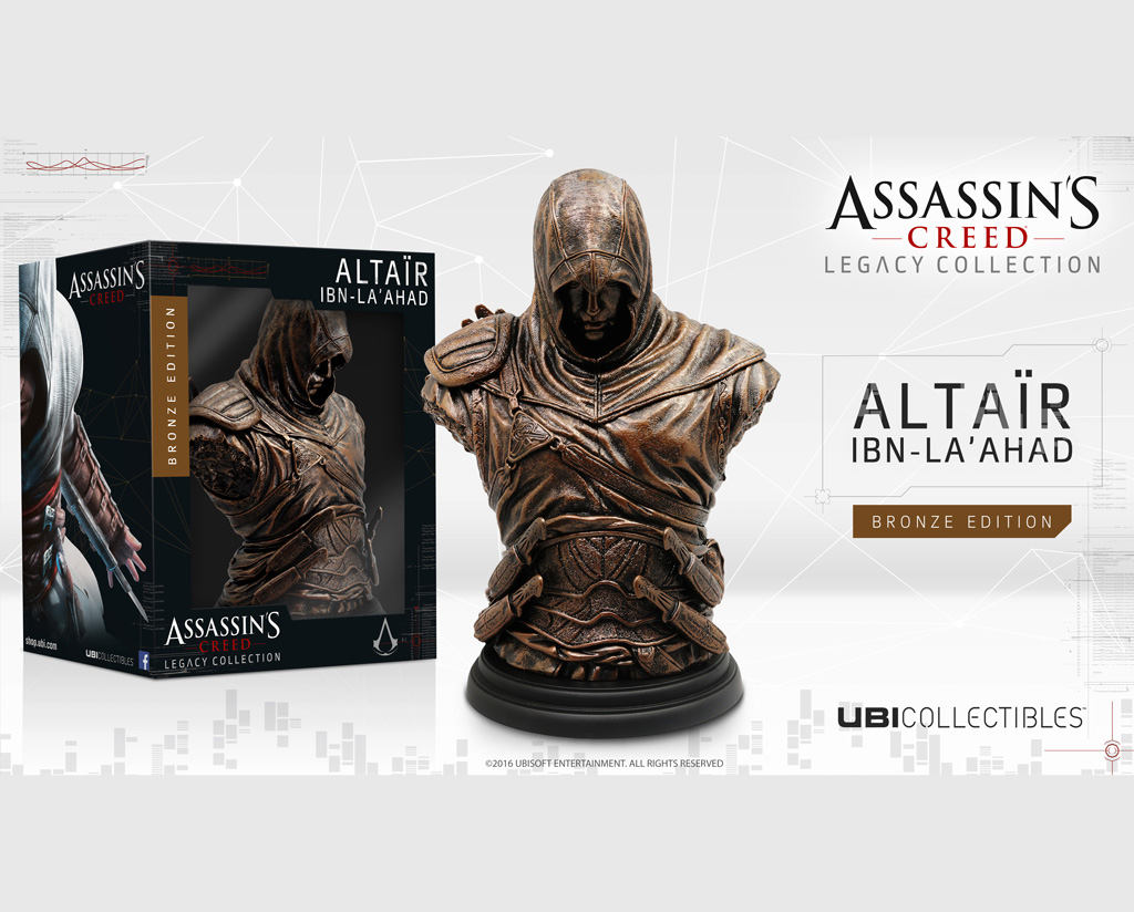 LEGACY COLLECTION: ALTAÏR IBN-LA'AHAD BRONZE