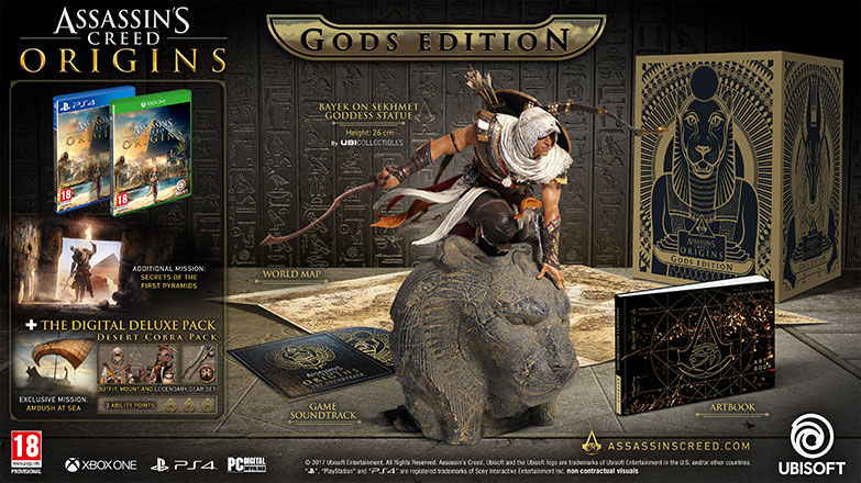 ASSASSIN'S CREED® ORIGINS – GODS EDITION