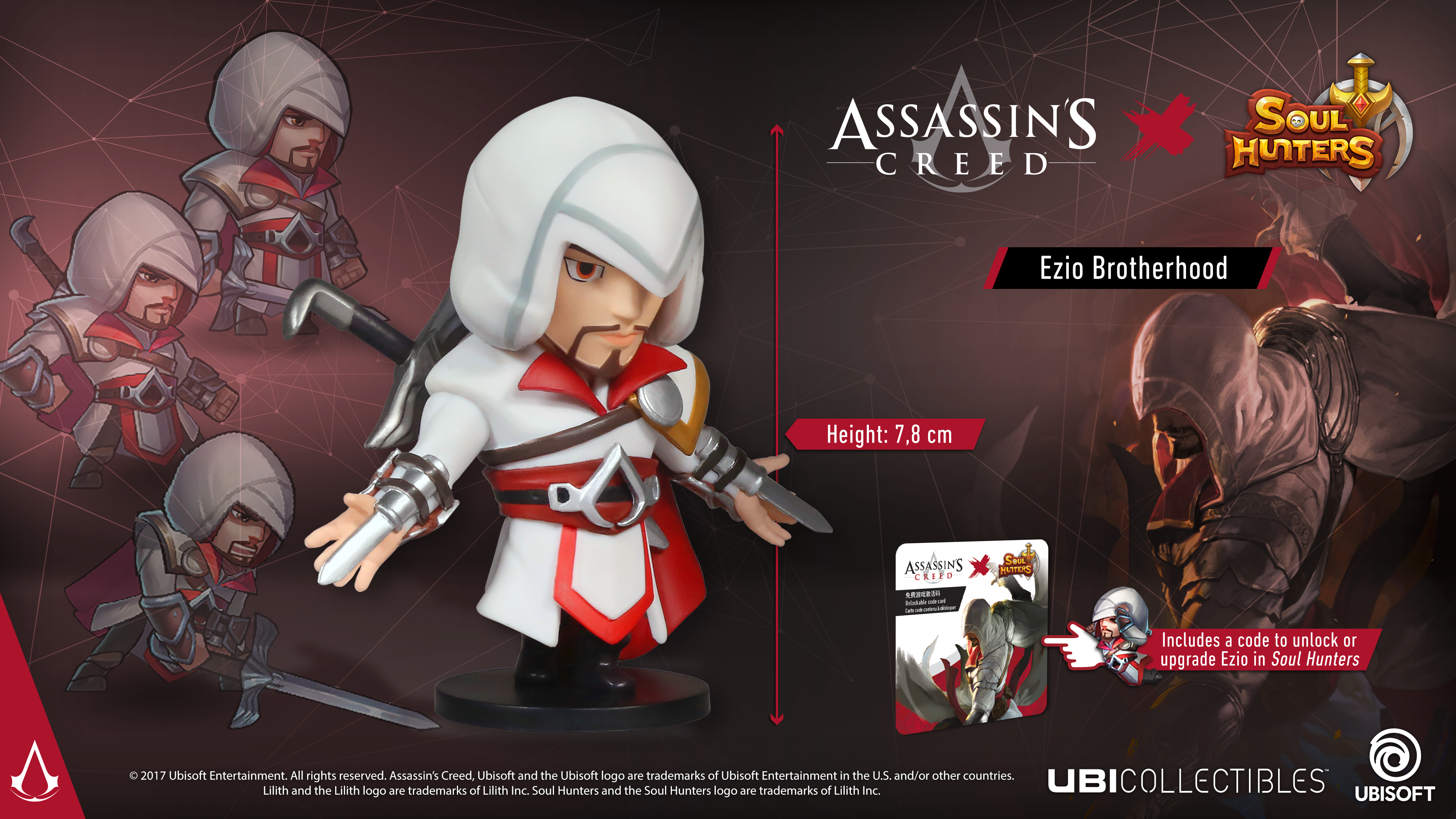 SOUL HUNTERS: STATUETTA EZIO DI BROTHERHOOD