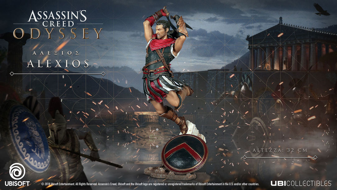 ASSASSIN'S CREED ODYSSEY – ALEXIOS FIGURINE