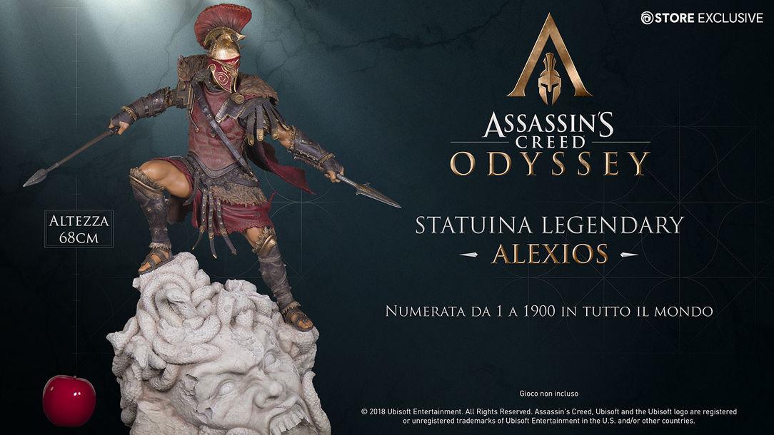 ASSASSIN'S CREED ODYSSEY – THE ALEXIOS LEGENDARY FIGURINE